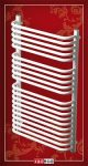 Radeco A2-400/U törölközőszárítós csőradiátor, 680x435 mm
