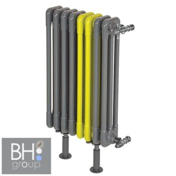 Radeco TREX-300/5 radiátor, 366x230 mm